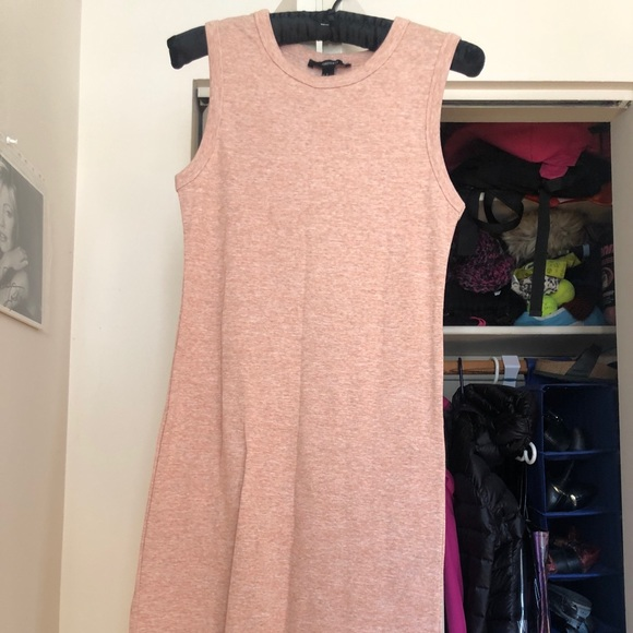 Forever 21 peach coloured tank dress